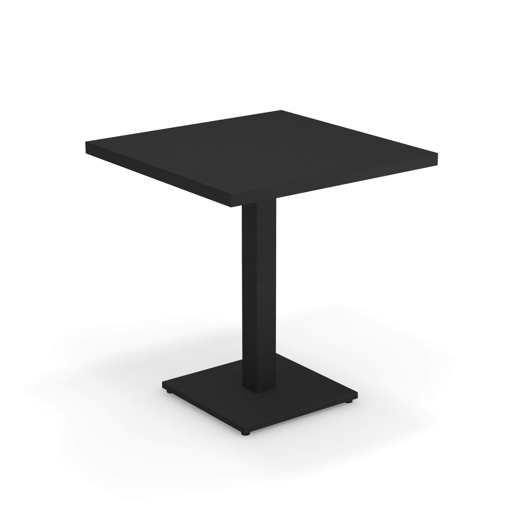 Garten Tisch quadratisch 38x38 für den Außenbereich aus Stahl
