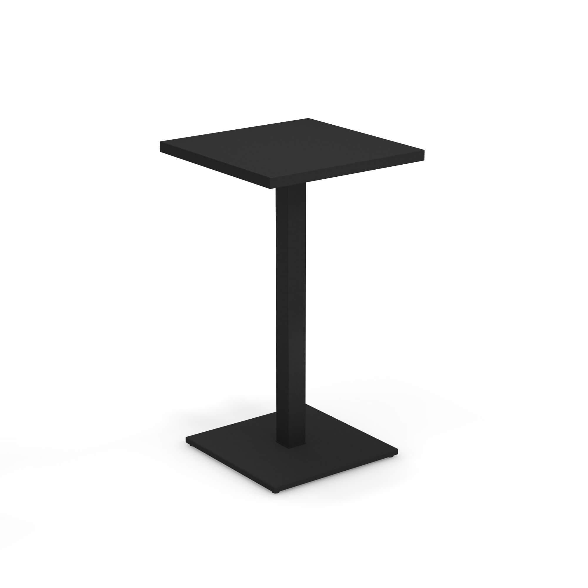 Emu Tavoli Da Giardino.Tavolo Alto 60x60 Da Giardino Esterno In Acciaio Collezione Round