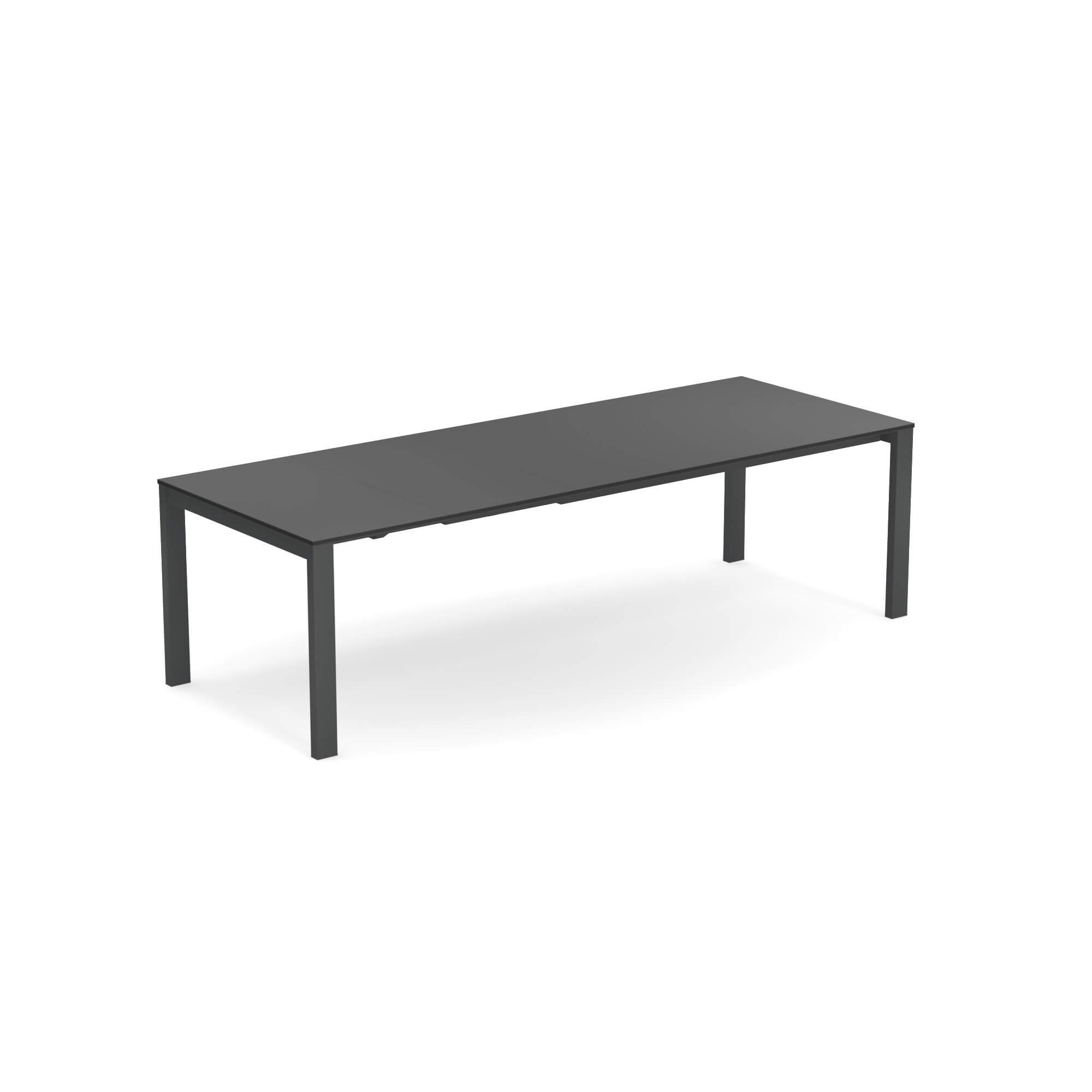 Emu Piano Tavolo Allungabile.Garden Extensible Table With Hpl Top 160 54 54x100 Outside In