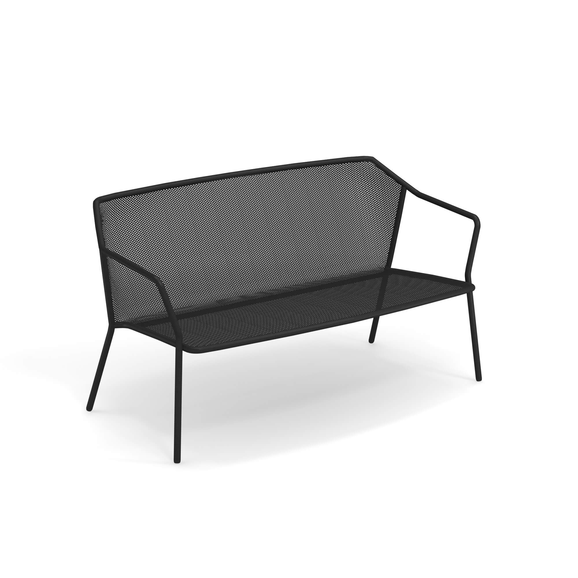 Image result for black and white couch outside