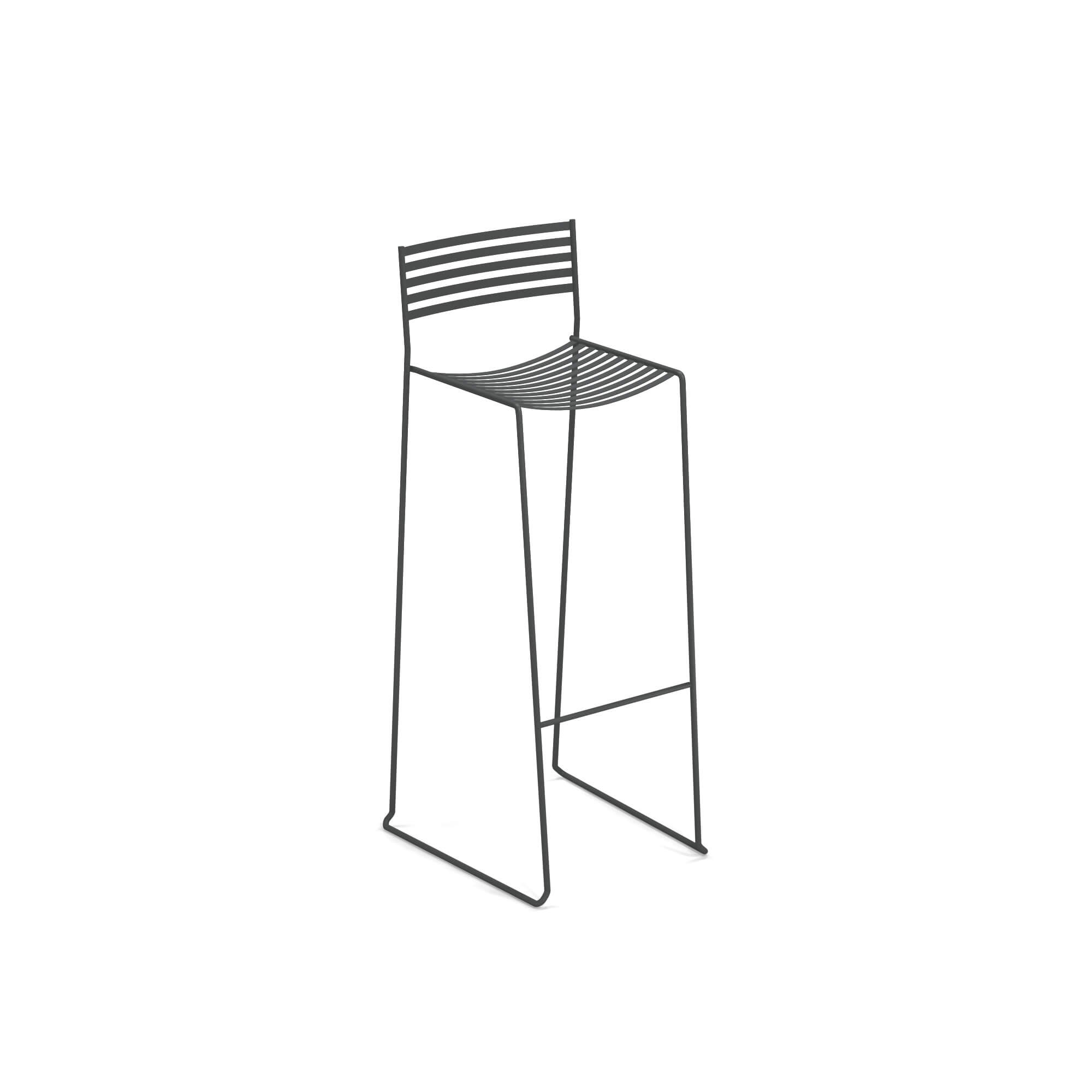 Marvelous Garden Barstool Outside In Steel Collection Aero Theyellowbook Wood Chair Design Ideas Theyellowbookinfo