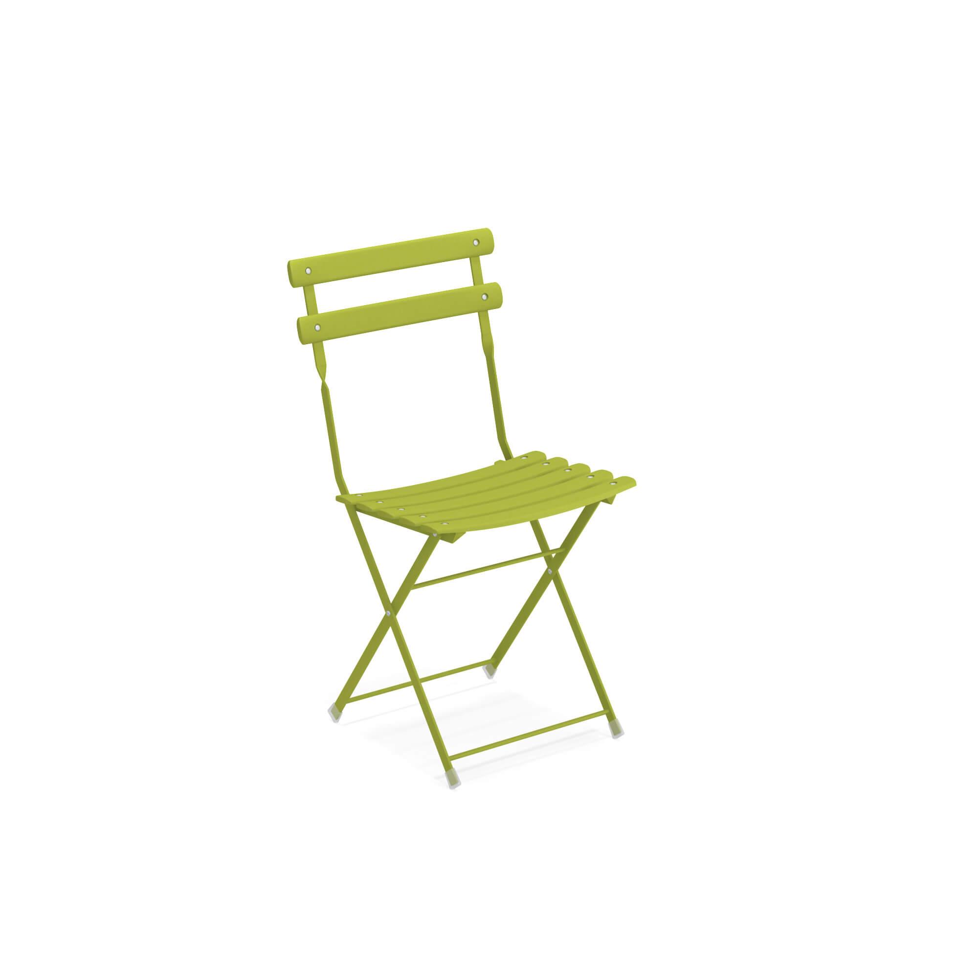Arc En Ciel Tavolo Pieghevole.Garden Folding Chair Outside In Steel Collection Arc En Ciel