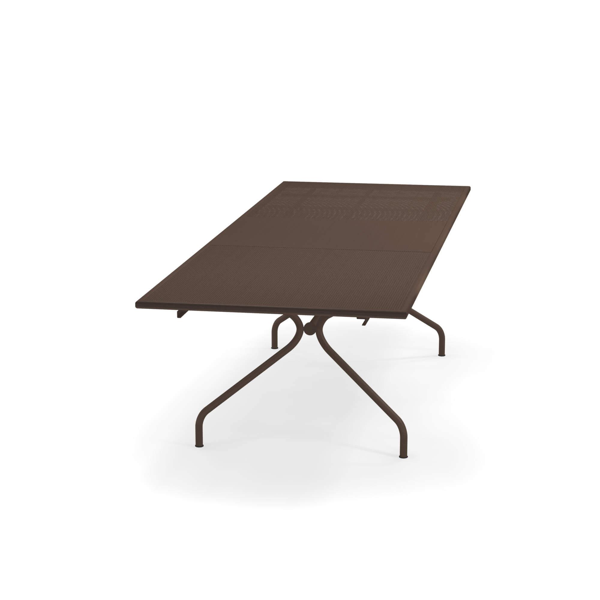 Table Jardin 70x100 Pour 230 En Acier Extensible Extérieur qSzMUVp