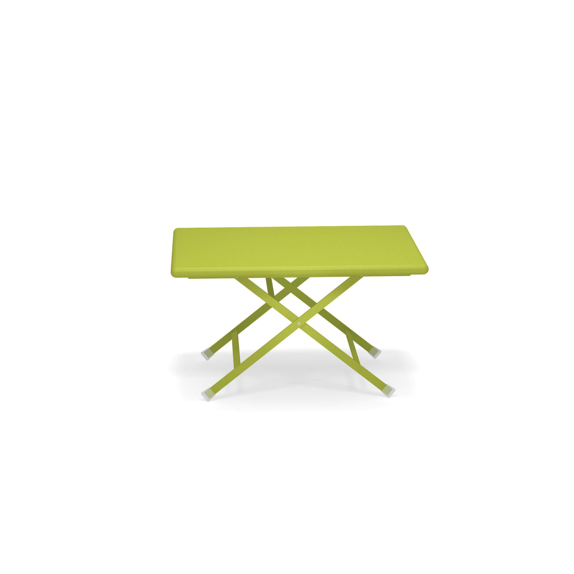 tavolo basso pieghevole 50x70 da giardino esterno in. Black Bedroom Furniture Sets. Home Design Ideas