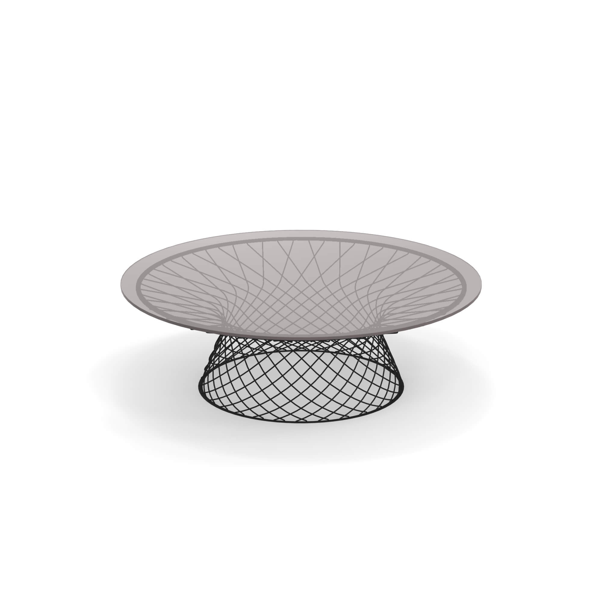 Garden Coffee Table O120 Outside In Steel Tempered Glass Collection Heaven [ 2000 x 2000 Pixel ]