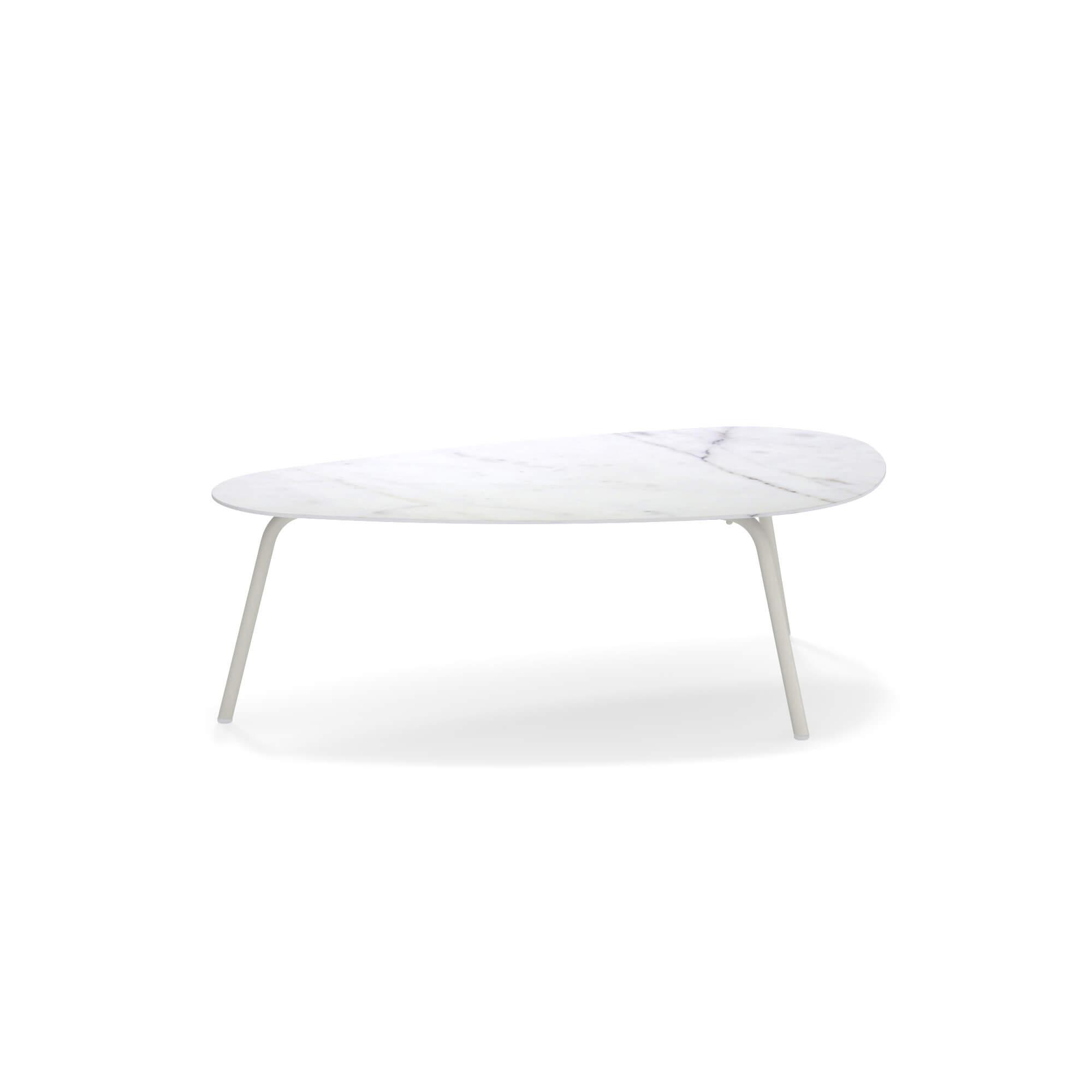 Garten Tisch Niedrig Tischplatte Feinsteinzeug 108x64 Fur Den Aussenbereich Aus Aluminium Feinsteinzeugfliesen Kollektion Terramare