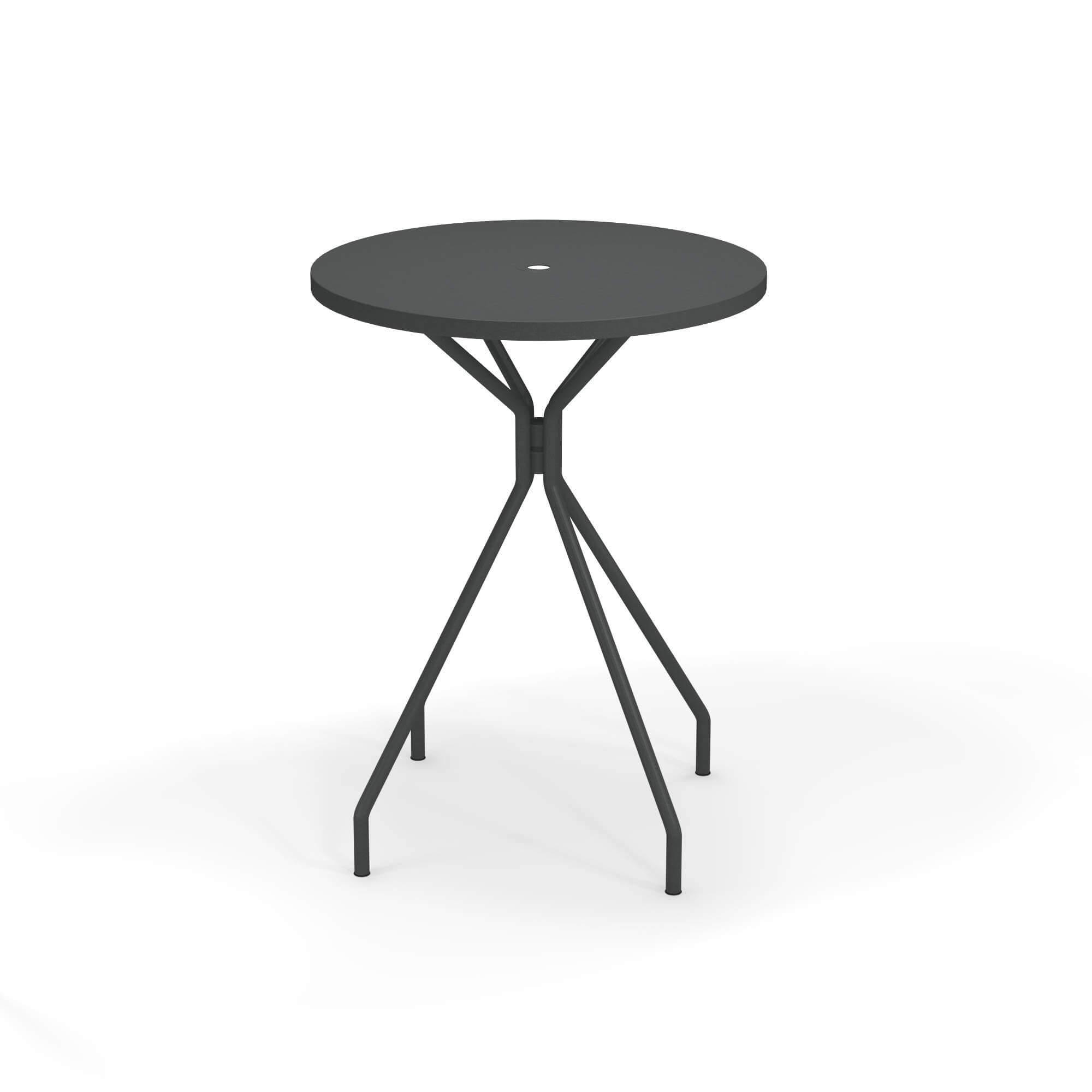 Table haute pour jardin / extérieur en acier - Collection Solid