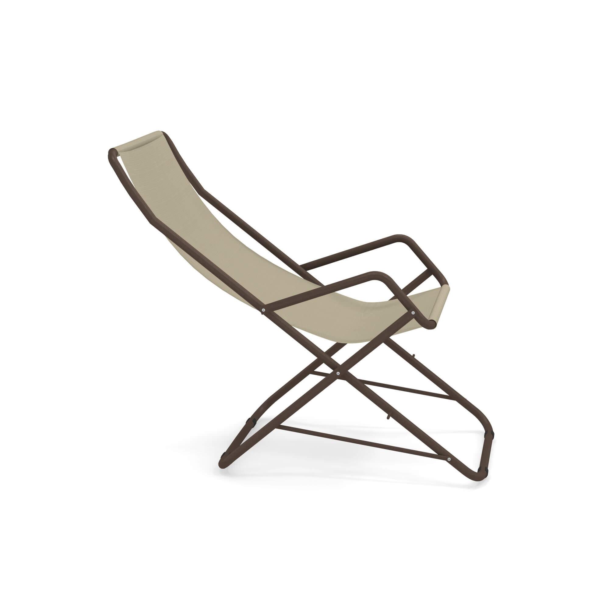 Sdraio Bahama Emu Prezzo.Garden Deck Chair Outside In Steel Emu Tex Collection Bahama