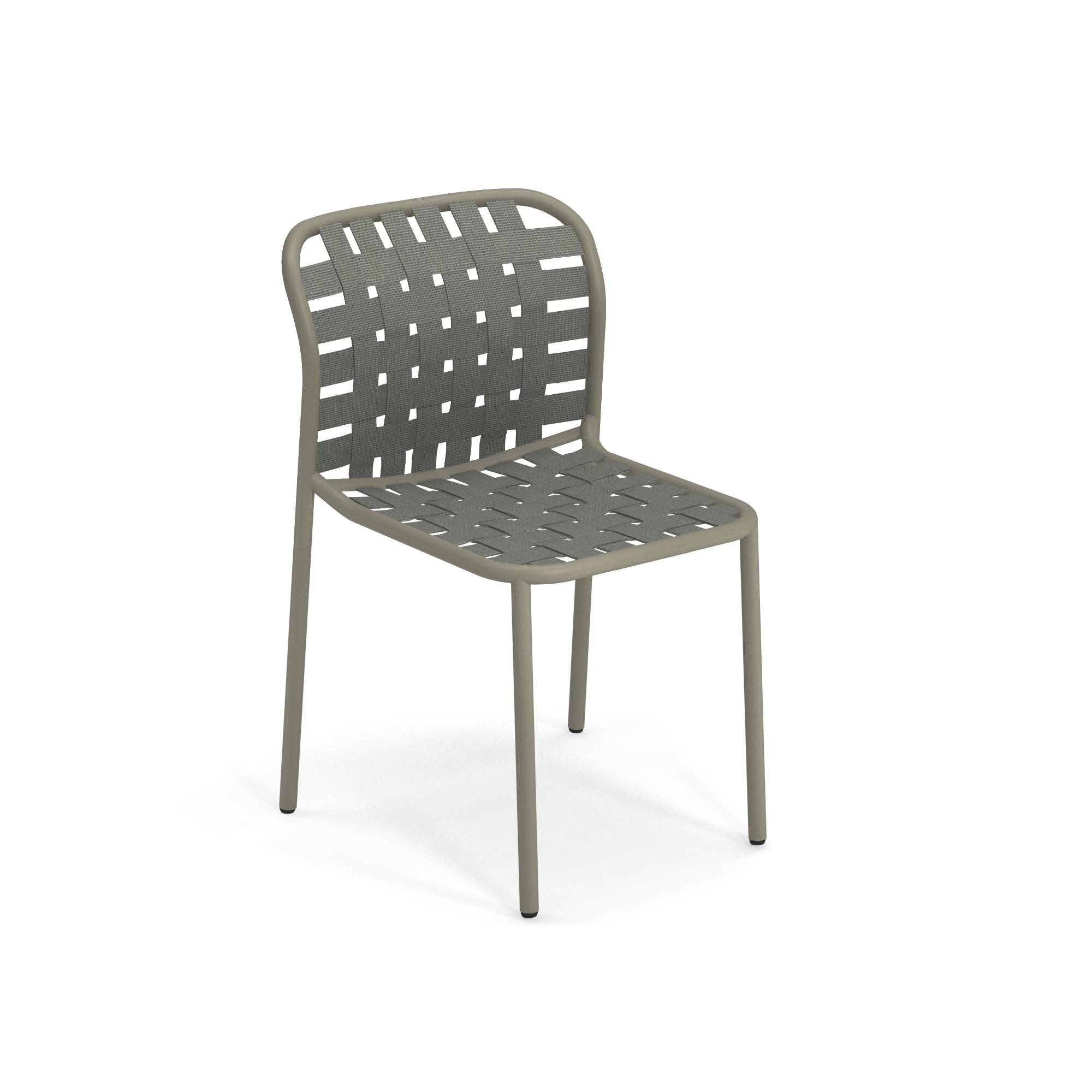 Garden chair / outside in Aluminium - Collection Yard